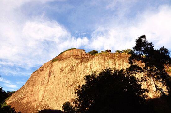 武夷山天遊峰晒布岩