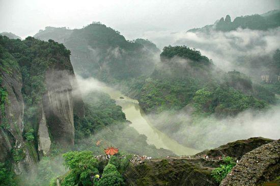 武夷山天遊峰