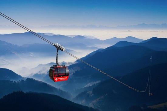 世界最長~番西邦峰纜車