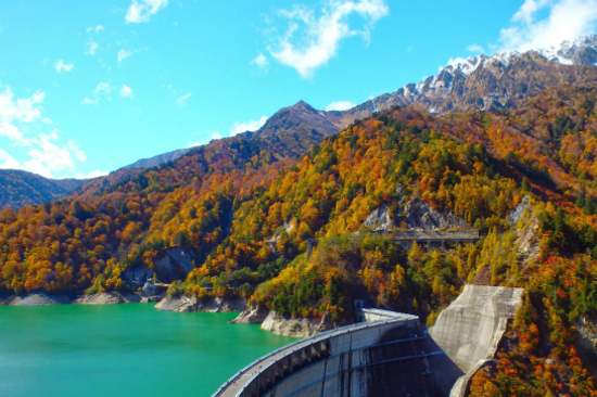 立山黑部大水壩