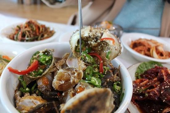 醬油蟹料理