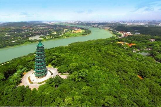 青秀山景區 龍象塔