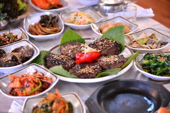 韓牛Dokgalbi定食