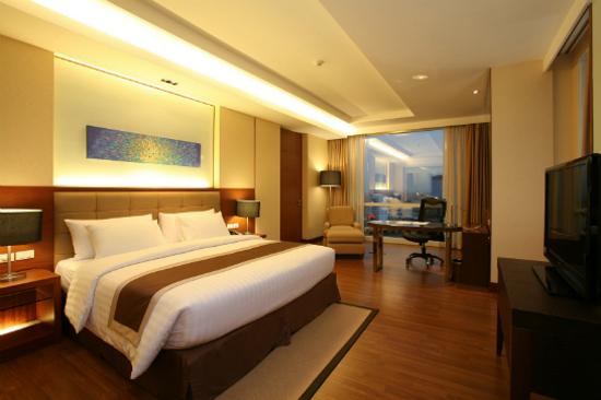 The Grand Fourwings Convention Hotel Deluxe Room