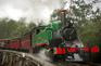 丹頓農山脈古董蒸氣火車