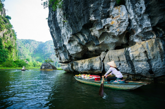 Vietnam Ninh Binh Lu Longwan越南 陸龍灣