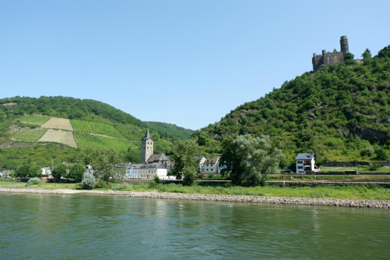 乘船遊萊茵河