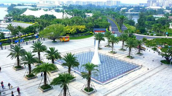 博鼇廣場全景