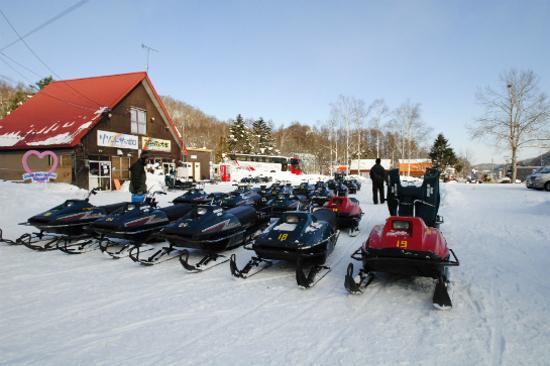 野外攀山雪車場