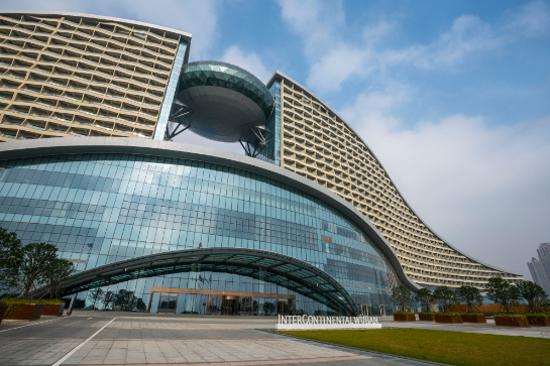 武漢洲際酒店外觀