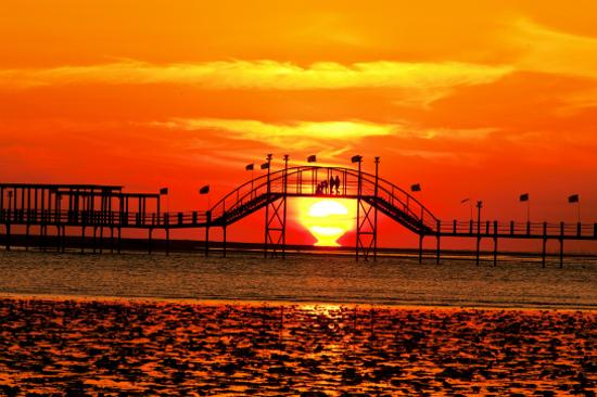 長頭魚橋日落