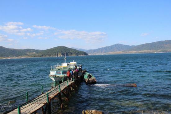 琵琶島海岸風光