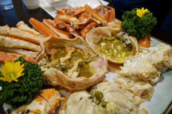 束草大蟹料理