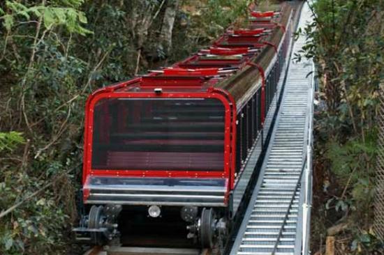 藍山國家公園鐵路列車