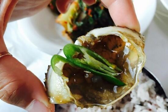 麗水醬蟹料理
