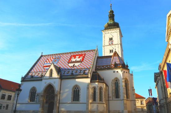 扎格勒布 - 聖馬可教堂