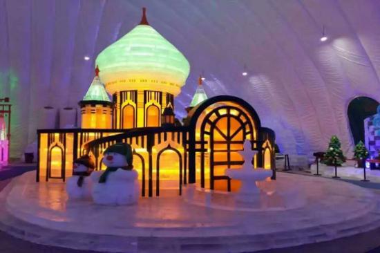哈爾濱冰雪大世界室內冰雪主題樂園