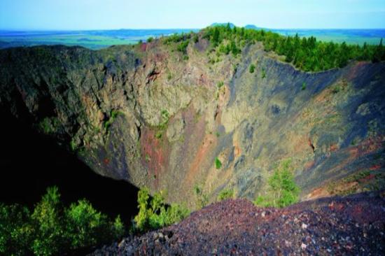 五大連池-黑龍山火山口