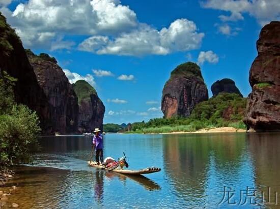 船遊蘆溪河