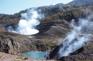 有珠火山遠眺