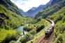 乘坐Flamsbana高山火車
