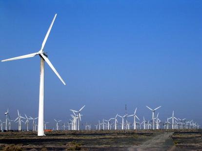 風力發電站