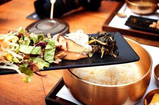 山房拌飯+韓式拌菜