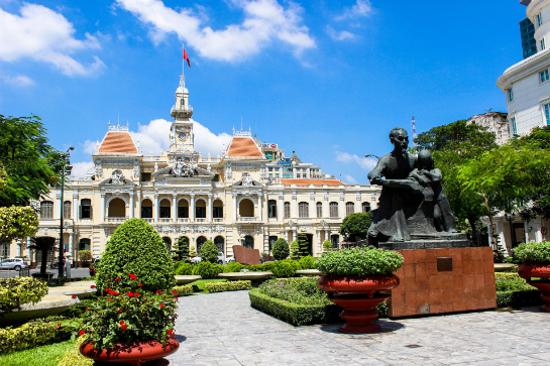 Vietnam Ho Chi Minh City Hall 越南 胡市明市政廳