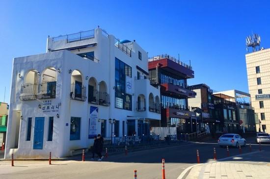 安木海岸咖啡街