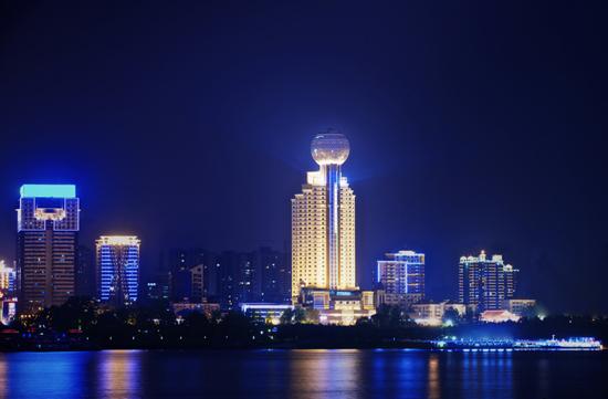 武漢明珠豪生酒店外觀