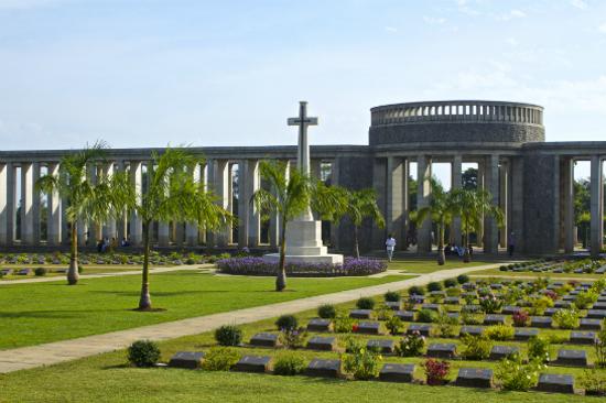 二次世界大戰盟軍殉職軍人墓地