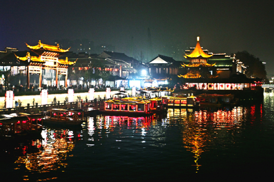 夫子廟夜景