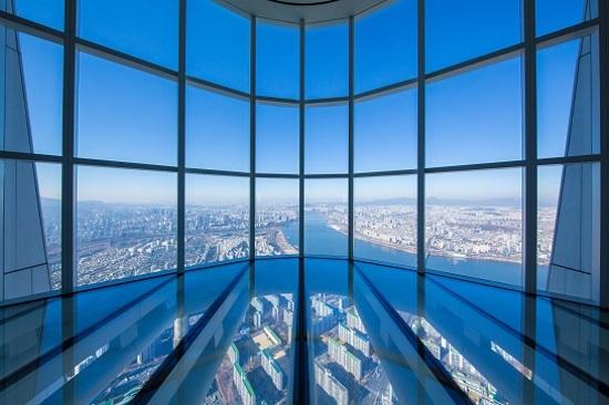「全球第三高瞭望台」Seoul Sky