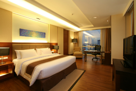 The Grand Fourwings hotel room
