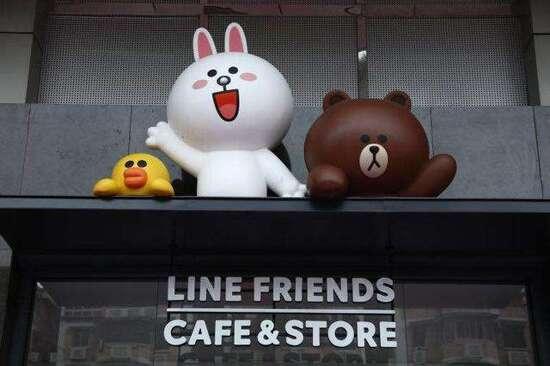 LINE FRIENDS主題店