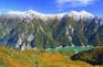 秋の立山黑部大觀峰