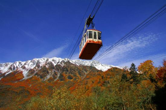 秋の立山黑部