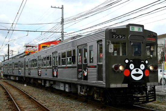 熊本熊Kumamon電車