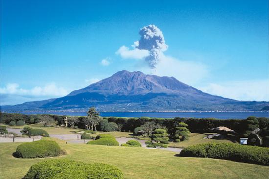 櫻島火山#(遠眺)