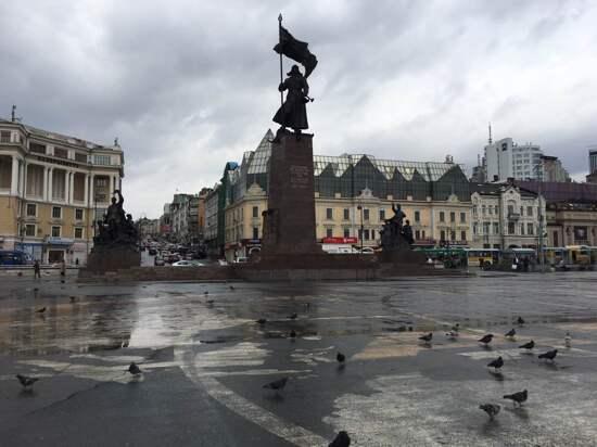 俄羅斯~布拉戈維申斯克-勝利廣場