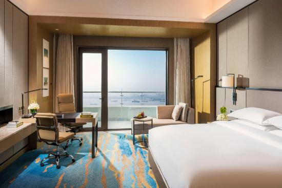 武漢洲際酒店客房