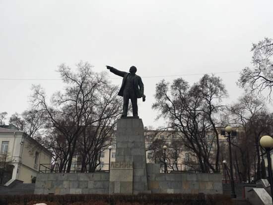 俄羅斯~布拉戈維申斯克-列寧廣場