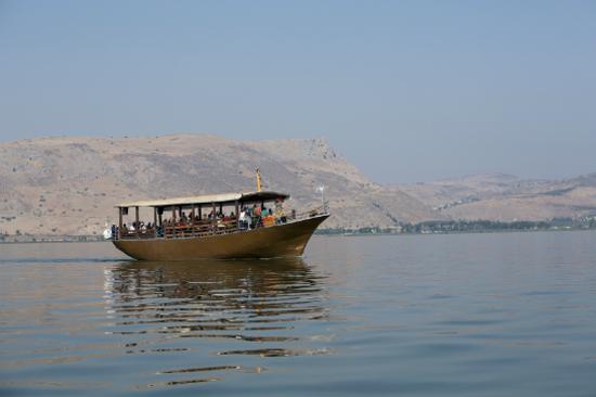 加利利湖-仿古遊湖之旅