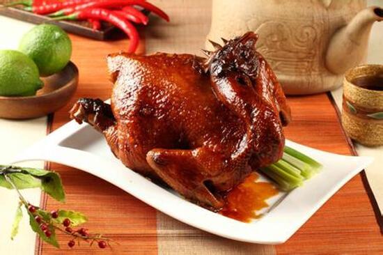 明爐燒春雞