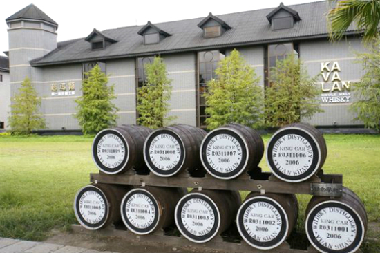金車威士忌酒廠2
