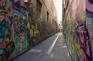 塗鴉藝術巷道