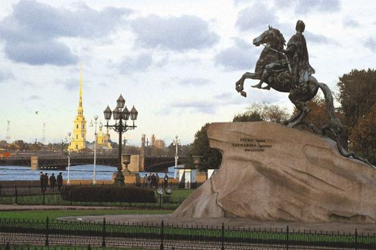 彼得大帝騎馬銅像