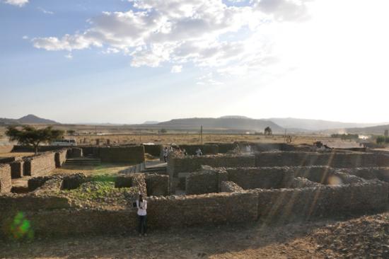 示巴女皇宮殿遺跡