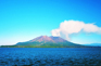 櫻島火山(遠眺)