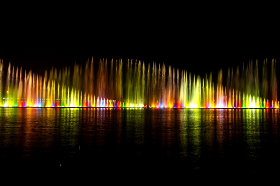 夜遊牌坊廣場